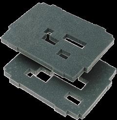 Комплект вкладышей из губки, 2 слоя SYS-VARI RM - фото 5833