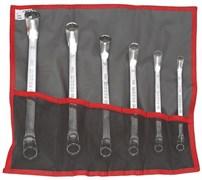 Набор накидных коленчатых ключей 8-19мм Facom 6шт
