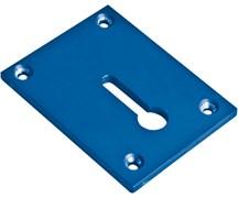 База (пластина) опорная стальная с пазом Klamp Plate для крепления зажимов