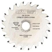 Диск циркулярный алмазный подрезной конический CMT