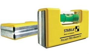 Уровень карманный Pocket PRO Magnetic STABILA