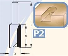Фреза полуштап цилиндрическая хвостовик 6мм DIMAR