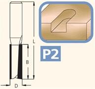 Фреза полуштап цилиндрическая хвостовик 12мм DIMAR