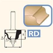 Фреза кромочная радиусная хвостовик 8мм DIMAR
