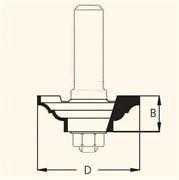 Фреза профильная D=46,0мм В=15,0мм DIMAR