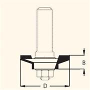 Фреза профильная D=41,0мм В=11,0мм DIMAR
