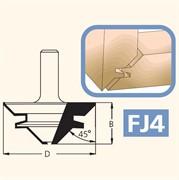 Фреза прямого/углового соединения хвостовик 12мм