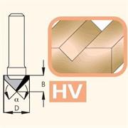 Фреза канавочная V-образная 60° хвостовик 8мм WoodPecker DIMAR