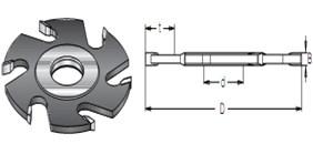 Фреза пазовая дисковая S=30 D=125-180 DIMAR