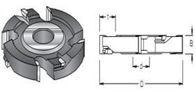 Фреза пазовая дисковая S=30 D=125-180мм DIMAR