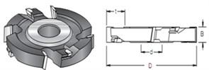 Фреза пазовая дисковая S=30 D=125x50 DIMAR