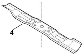 Нож для газонокосилок RM 248 Stihl
