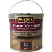 Акриловый лак для пола / Q/D Floor Varnish Satin (полуматовый)