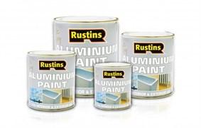Быстросохнущая Алюминиевая краска Aluminium Paint 250мл