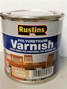 Полиуретановый лак / Poly Varnish Satin Clear (Полуматовый)