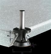 Фреза HW S12 R6,35/30° для скругления с подш.