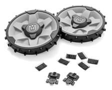 Колеса с утяжелением (2х500г) и комплект колёсных щёток (305)