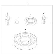 Набор для ремонта эксцентрикового элемента LF 80 L Husqvarna