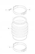 Комплект для ремонта колена LT 5005 Husqvarna