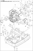 Запчасти для установки двигателя LP 7505 HATZ