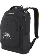 Рюкзак фирменный черный Mirka