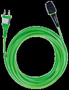 Кабель Plug It 4м H05 BQ-F/4,0 зеленый +