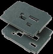Комплект вкладышей из губки, 2 слоя SYS-VARI RM TL